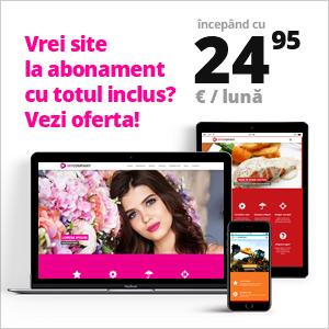 Site-uri web de prezentare pe bază de abonament